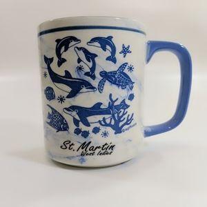 St Martin West Indies Dolphin Coffee Mug